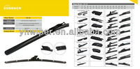 20 models original type soft wiper blade for VW,Ford,BMW,Mercedes,Renault,Volvo,etc