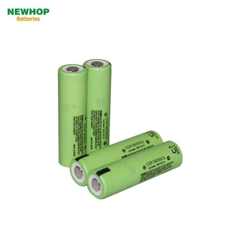100% authentic cgr18650cg 2250mah battery for panasonic li ion cgr18650cg 2250mAh battery