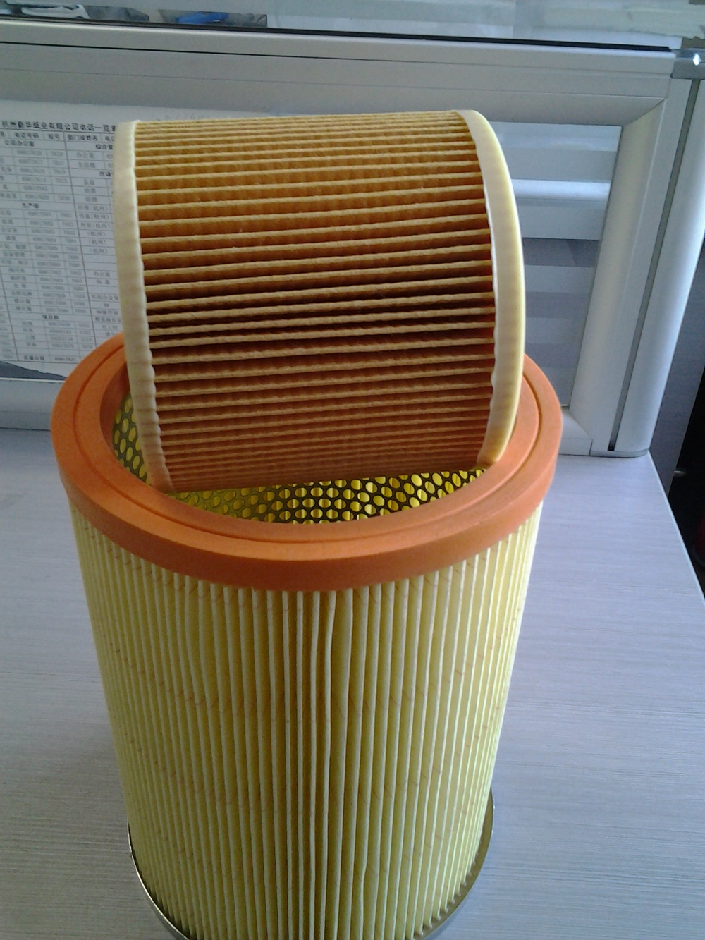 Various color air filter automotive fuel filter paper