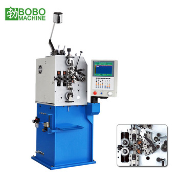 Automatic CNC wire compression coil spring coiling machine