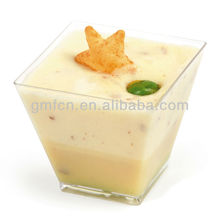 Party Catering Wedding Mini icecream sauce pudding Disposable Plastic 3 oz clear plastic cups
