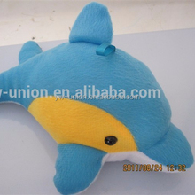 blue dolphin toy / stuffed dolphin toy for crane machine
