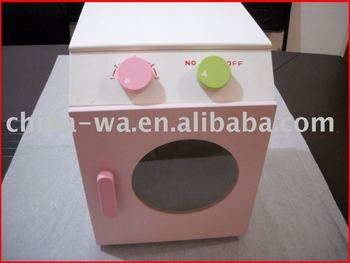 new wood pretendplay microwave or oven toy for children