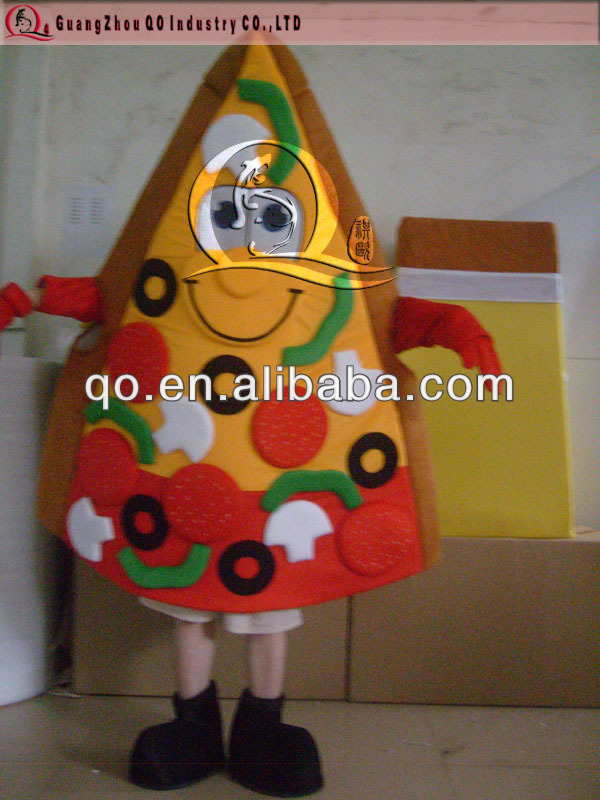 High quality food character pizza mascot costume