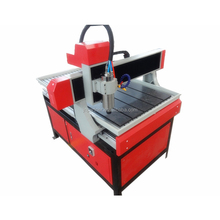 Low price 3D cnc router 6090 comes with square guide rail 4 axis