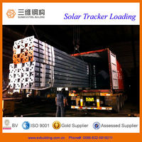 Single Axis Solar tracker system with high quality