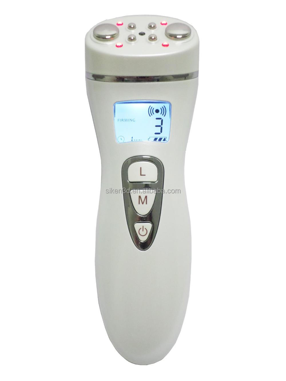 60hz Bipolar RF Body RF Facial RF Bio facial Cavitation Slimming machine