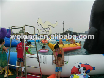Customized Inflatable Banana Boat / Inflatable water game