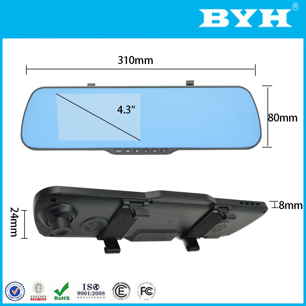 2017 trending innovative gadgets rearview mirror gps navigator android wifi full hd 1080p car dvr rearview mirror