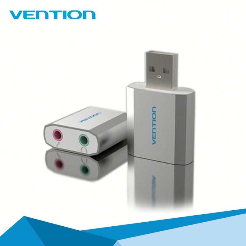 Online shopping best selling Vention usb sound card oem