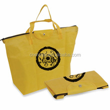 Customized latest foldable non woven shopping bag