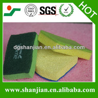 High quanlity cellulose kitchen sponge for cleaning