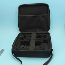 Custom EVA hard protective waterproof handle leather gun case with foam