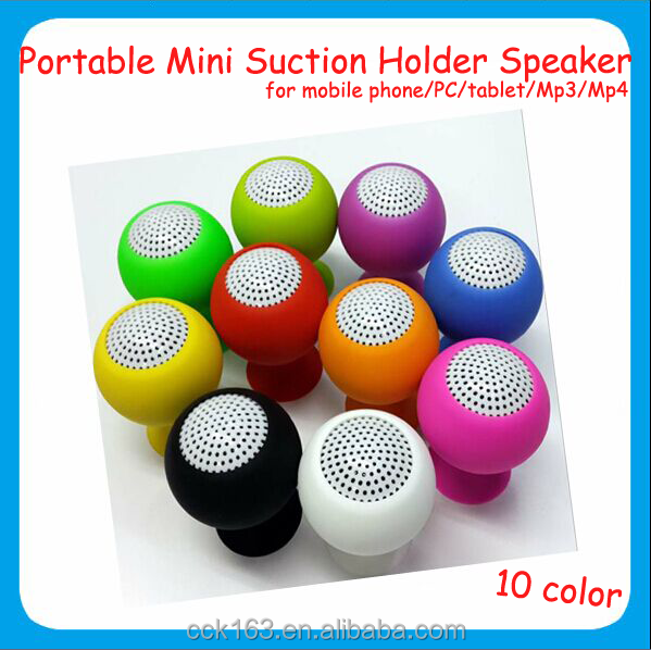 Mini speaker,for mobile phone/mp3/tablet/PC holder speaker portable mini speaker with retail package