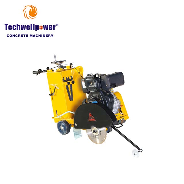 Walk Behind Wall Groove Road Cutting Robin Machine Concrete Saw Cutter