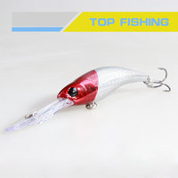 Best plastic minnow fishing lures MM07C-R01F minnow floating