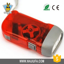 Waterproof 3 LED hand pressing dynamo flashlight,Led Dynamo Hand Crank Shake torch flashlights,Dynamo flashlight