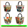 new style leisure fashion female package printing handbag lovely lunch bag beauty small canvas bag R483
