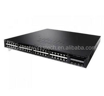3650 Series Gigabit Ethernet Networking Switch WS-C3650-48PS-L