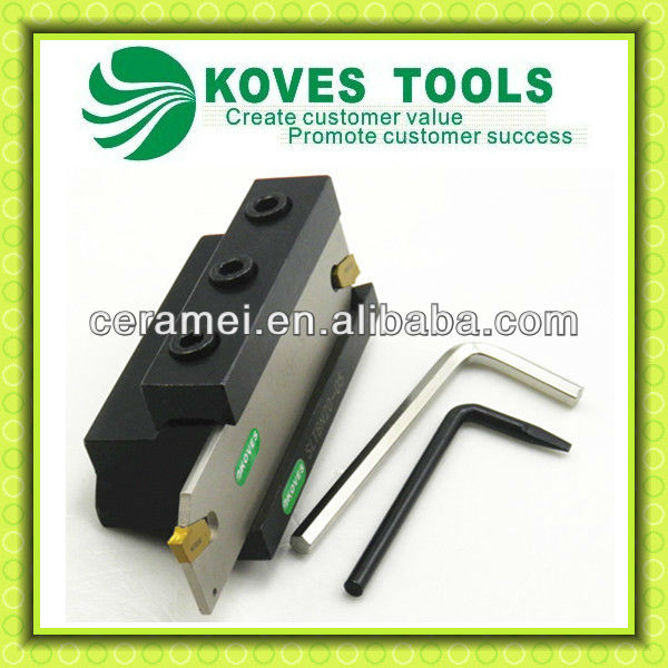 lathe external turning tool cutting off tool holder set