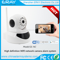 Promotion Smart Product IP Camera Wireless P2P WIFI High-end Camera Remote View Control Alarm New Webcam