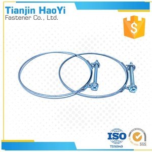 high temp 1 wire hose clamp use to mechanical clamp