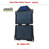 0613Top!~6 watt Thin film Solar Panel 6Watt with double USB Ports Solar Panel for Phone or outdoor