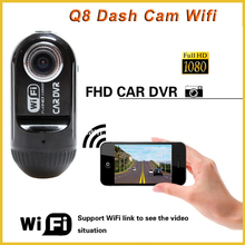 Full hd 1080P wifi Vehicle digital dashboard blackbox camera for cars, dash cam with parking mode