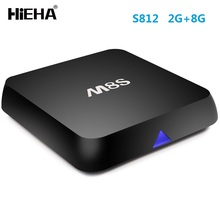 2017 Amlogic S812 M8S Blue Scart 4k HD Xnxx Firmware Update V88 Smart 2gb Ram 16gb Rom Android TV 6.0 cable set top box price