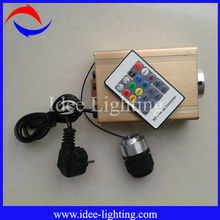 16W LED fiber optic light engine colorful