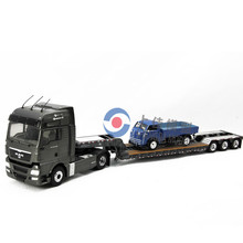 1:50 MAN truck diecast model semi-trailer,custom made truck model toy,metal mini truck toys
