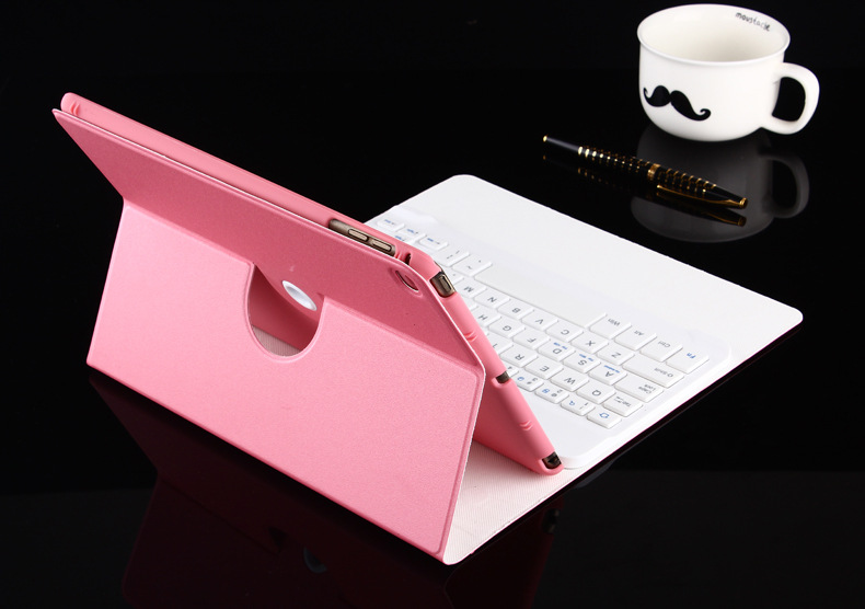 360 Swivel Stand Detachable Bluetooth Keyboard Case For ipad Air 1/2