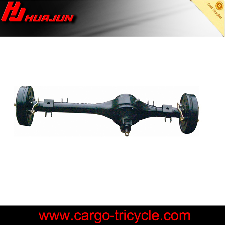 motorcycle truck 3 wheel tricycle/three wheel cargo scooter motorcycle rear axle