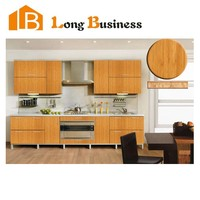 LB-JL1120 Hot Sale Chinese Antique Furniture Melamine Kitchen Cabinet With Conutertop