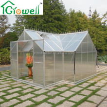 T shaped Orangery Aluminium Greenhouse