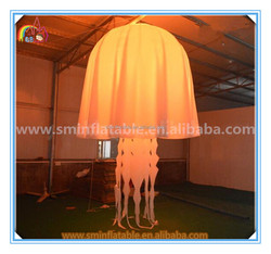 New design inflatable decoration jellyfish,inflatable jellyfish balloon,led inflatable jellyfish for party evevt