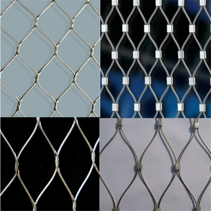 High quality ferrule zoo mesh/animal enclosure