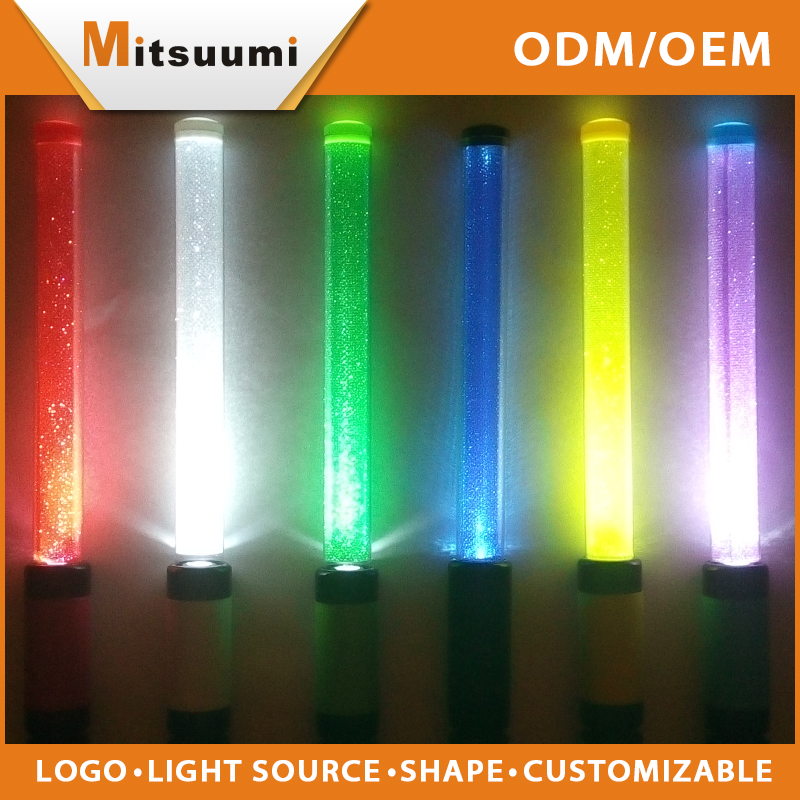 2016 Cheapest wholesale Remote controlled light up flashing led stick light for party, party supplies, festival