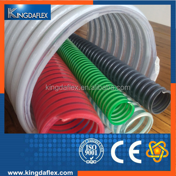 PVC Anti-Static Helix Vacuum Suction Dust Absorption Hose Pipe