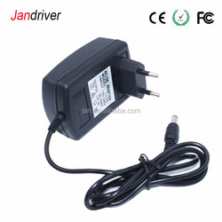 China Suppliers AC To DC Adapter 24W 12V 2A Wall Mounter Power Adapter 12W 36W 1A 2A 3A With US/EU/UK/AU Standard