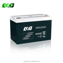 Rechargeable flooded charge ups 12v 100ah lead acid battery