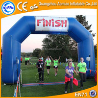 Race use inflatable archway, commercial start and finish arch for rental