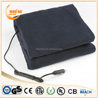 24v / 12v car auto electric heated blanket for travel