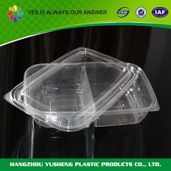 Plastic material food use disposable biodegradable fast food packaging