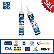 china glass & metal silicone sealant spray
