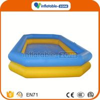 New design inflatable aquapark with pool inflatable pool rental
