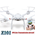 MJX X101 FPV Drone is devoted to developing 2.4G gyro FPV real-time transmission RC quadcopter with HD camera