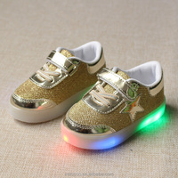 Eur21-25// New Baby Children Shoes with LED Light up Shoes Toddler Anti-Slip Kids Girls boy luminous glowing Sneakers