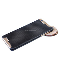 Unique Black Carbon Fiber Mobile Phone Back Shell Housing black Cover phone Case For i phone 6s