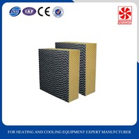 Alibaba evaporative cooling pad /evaporative wet curtain